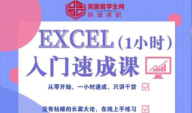 技能鉴定 | 德意志大神1小时教你入门Excel!